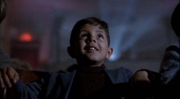 Salvatore Cascio as 'Toto' Da Vita in Cinema Paradiso